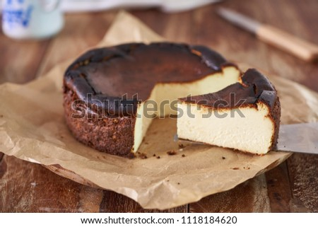 Basque burnt cheesecake       #1118184620