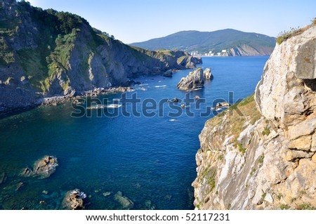 Basque Country coast