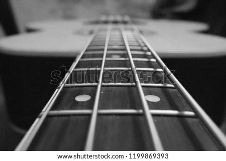 Bass Guitar perspective #1199869393