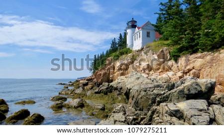 Bass Harbor Head Lighthouse Maine #1079275211