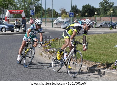 BATALHA, PORTUGAL - JUNE 10: Participate in the event of the 4th Grand Prix cycling of the municipality of Battle 2011 on June 10, 2011 in Batalha, Portugal.