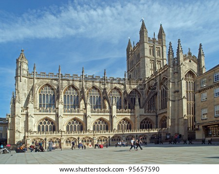 Bath Abbey, Somerset, England