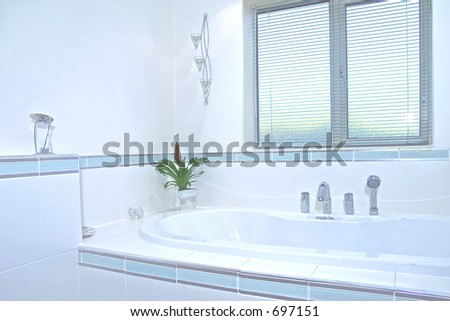 Bathroom detail in UK property