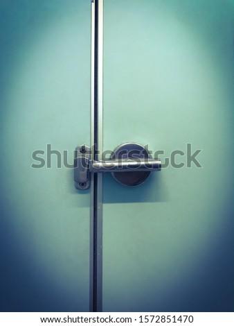 Bathroom door knob.  door knob stainless