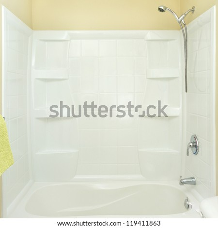 Bathroom minimalist Interior design in a new apartment