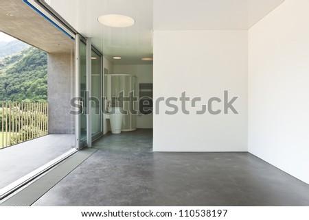 Bathroom of a modern hotel room