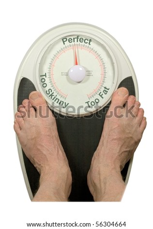 "Bathroom Scale reading ""Perfect"" Weight"