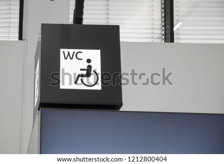 Free Photos Handicap Sign For Special Toilet Avopix Com