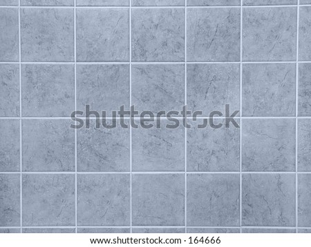 Bathroom Tiles - Blue