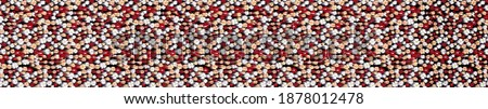 batik ethnic texture textile gradient line polka dot leopard floral flowers Stok fotoğraf ©