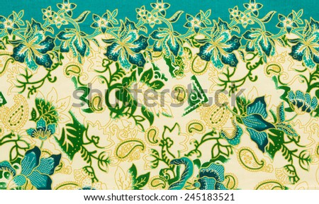 batik sarong pattern background