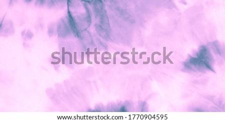 Batik Wash Effect. Artistic Texture. Batik Tie Dye Illustration. Watercolor Ink Indigo Canvas. Beautiful Purple Illustration. Vibrant Abstract Dirty Art. Grunge Aquarelle Dirty Painting.