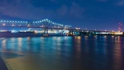 Baton Rouge, Louisiana at night