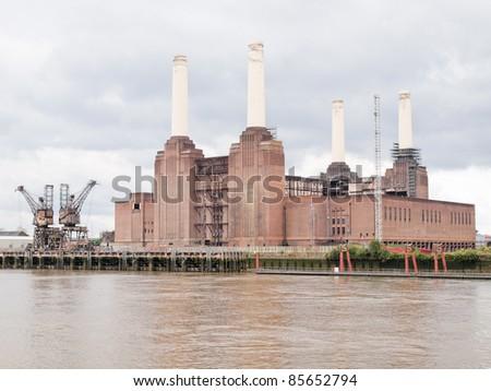 Battersea Power Station in London England UK #85652794