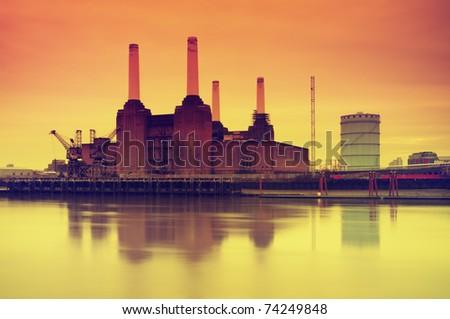 Battersea Power Station, London, UK.