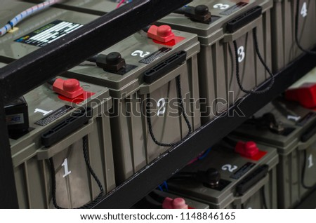 Battery maintenance or replacement old battery. #1148846165
