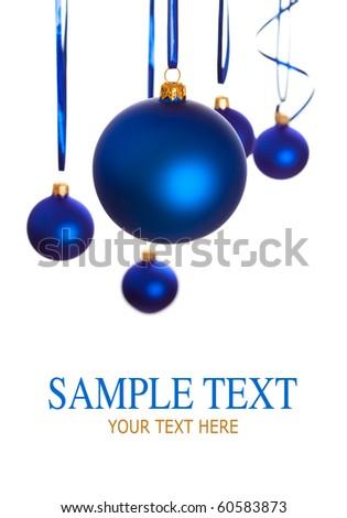 Baubles - christmas decoration