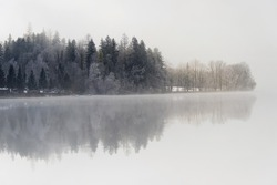Bavaria Alps, Germany, the lake Kochelsee