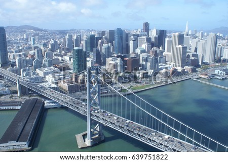 Bay Area Aerial View