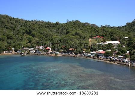 Bay at Isla Roatan