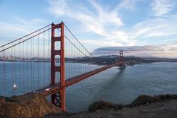Bay bridge at Sanfrancisco
