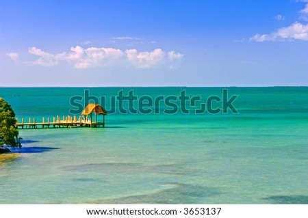 bayside in florida keys - stock photo