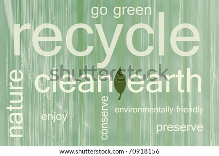 be environmentally friendly