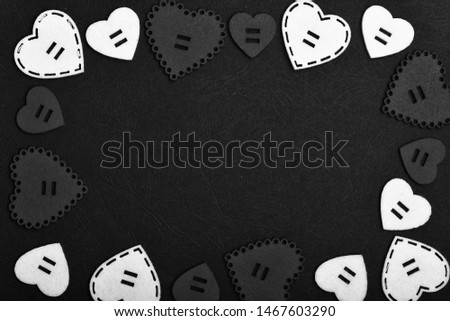 Be my valentine. Lovely background. Decoration heart background. Love symbol valentines day. Valentines day holiday celebration. Texture with hearts close up. Traditional attributes of valentines day.