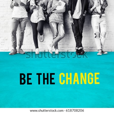 Be The Change Strategy Icon #618708206