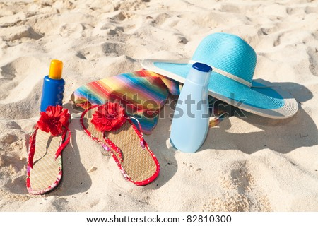 Beach and sun accessories