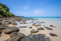 Beach and tropical sea at Koh kood island, Trat province, Thailand