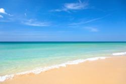 Beach and tropical sea in Thailand