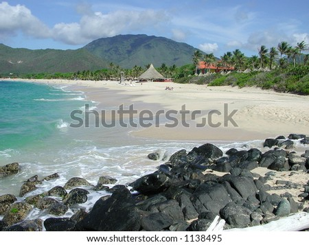 Beach at Isla Margarita