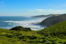 Beach at the East London Coast Nature Reserve, Eastern Cape province, South Africa