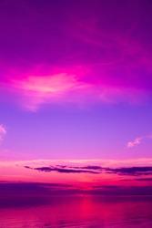 Beach Background Twilight