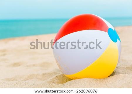 Beach Ball, Beach, Ball. #262096076