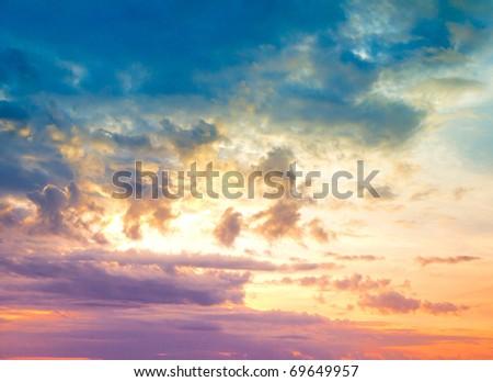 Beach Beauty Cloudscape