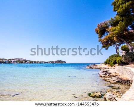 Beach Coast at spain