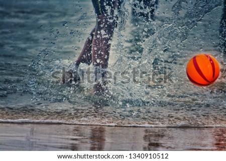 Beach football games #1340910512