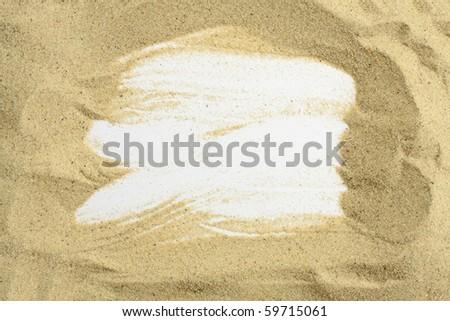 beach frame