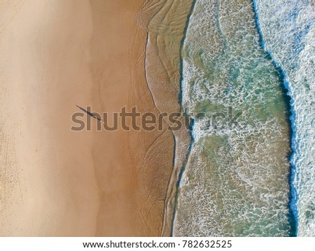 Beach from above. #782632525