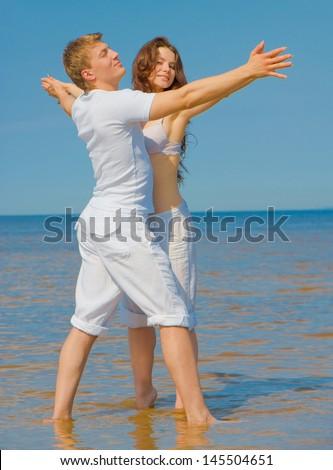 Beach Happiness Vacation