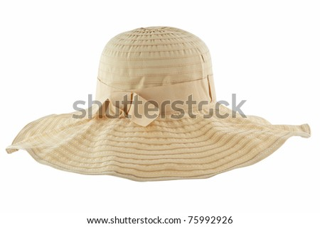 beach hat from the sun