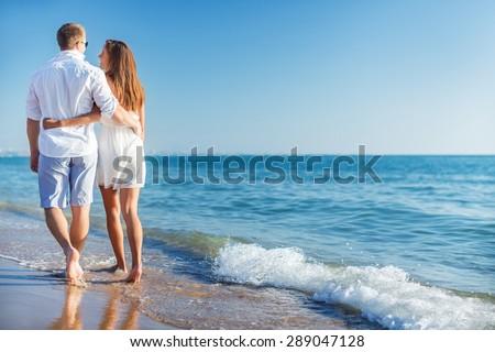 Beach, honeymoon, love.