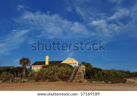 Beach house in St. Augustin