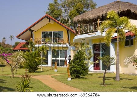 Beach house in Thailand