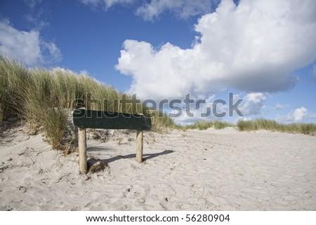 Beach in Ameland