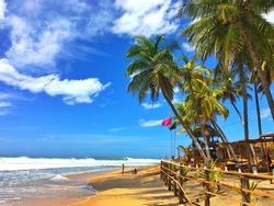 Beach in Arugam Bay, Sri Lanka
