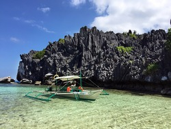 Beach in El Nido, Philippines