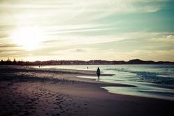 Beach in Goldcoast, Queensland, Australia